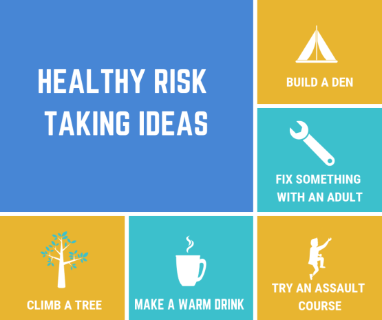 healthy risk taking ideas copy