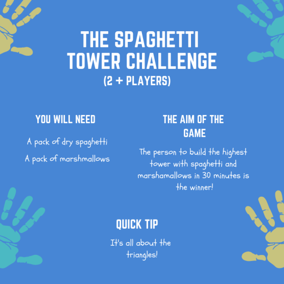 the spaghetti tower challenge