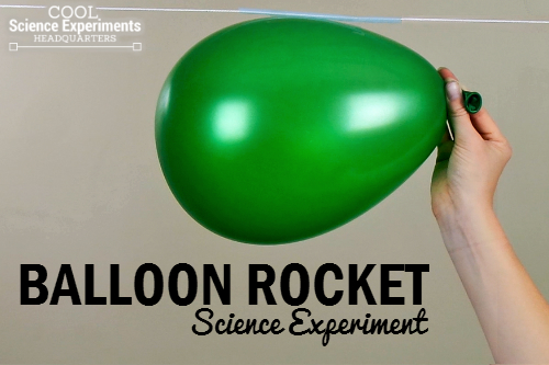 Balloon-Rocket-Science-Experiment
